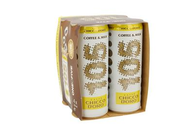 105 chiccodoro coffee&milk 250ml can qpack